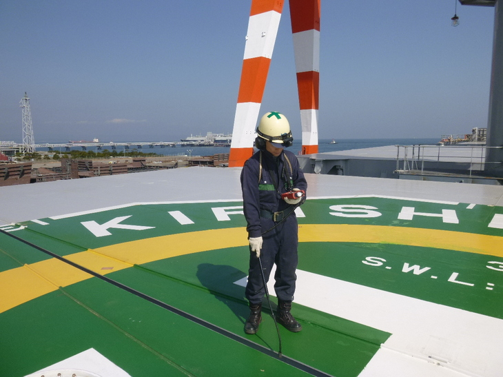 tightness testing of hatches with ultrasonic equipment